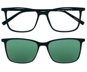 VISTAN Brille für Clip 6151 4 schwarz matt Brillen günstig